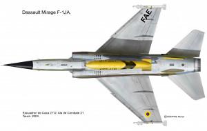 F-1 AJ dessous