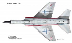 F-1C Lorraine dessous