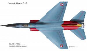 F-1C Lorraine dessus