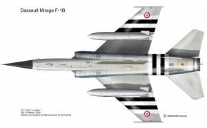 MIR F-1B 33 FD dessous