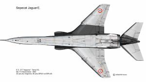 Jaguar B dessous